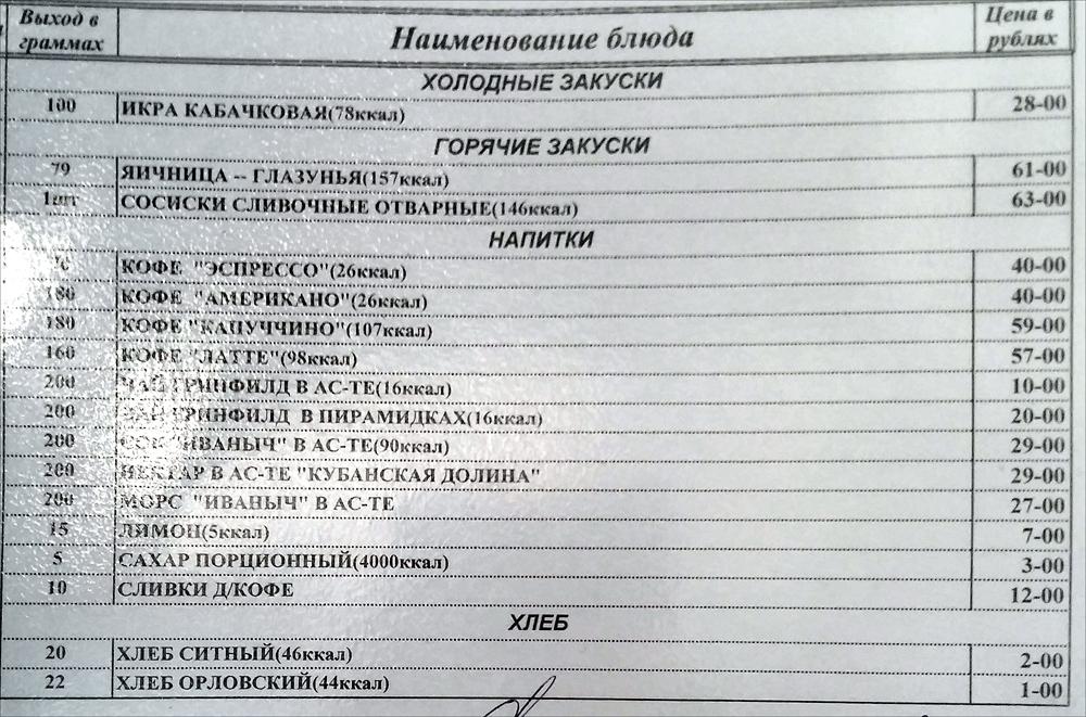 Как устроена столовая Госдумы: цены, меню и стол заказов