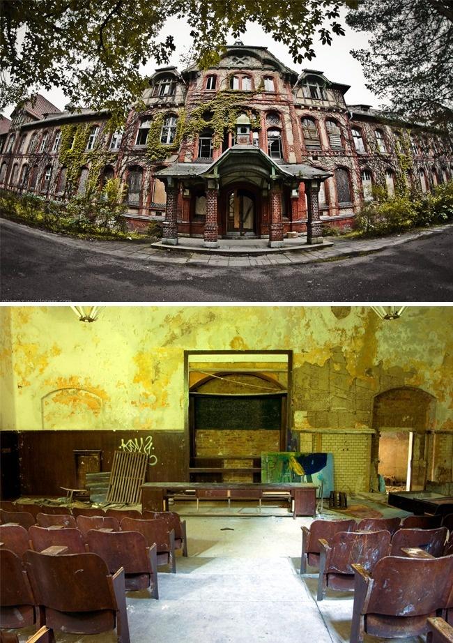 © qbanez  © pommes.fritz123  Этот заброшенный госпиталь послужил как немецкой, так иСов