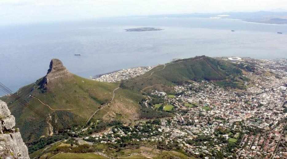 40. Львиная голова над Кейптауном, ЮАР