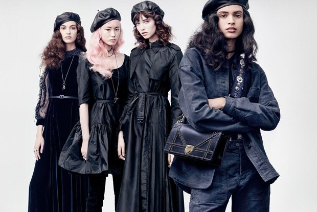 Dior Fall Winter 2017.18 by Brigitte Lacombe
