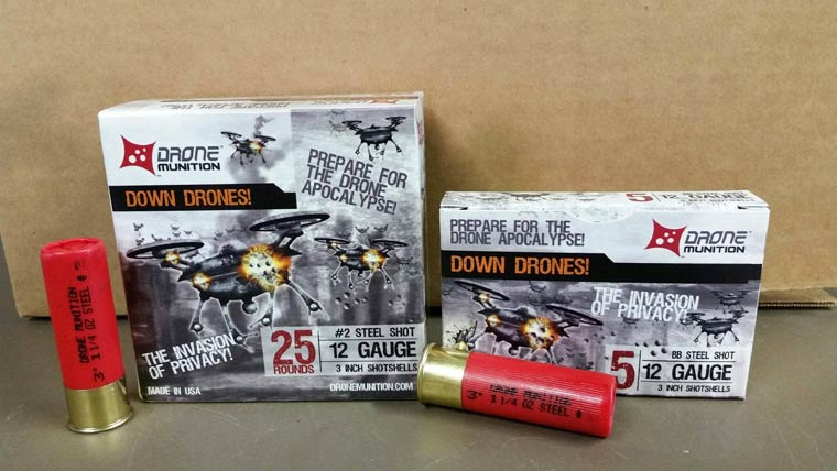 Down Drones - Shotgun shells specifically designed to shoot down drones