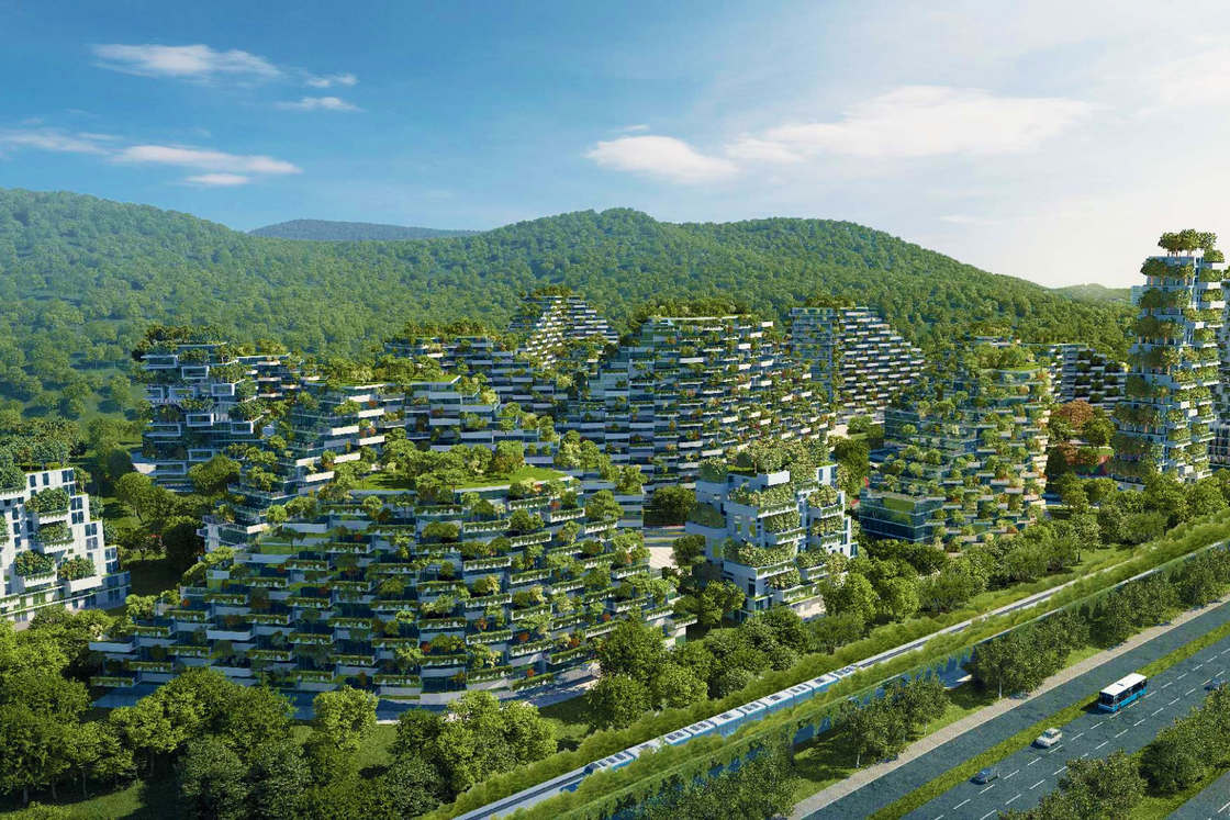 Forest City – A green city with more than 1 million trees and plants (7 pics)