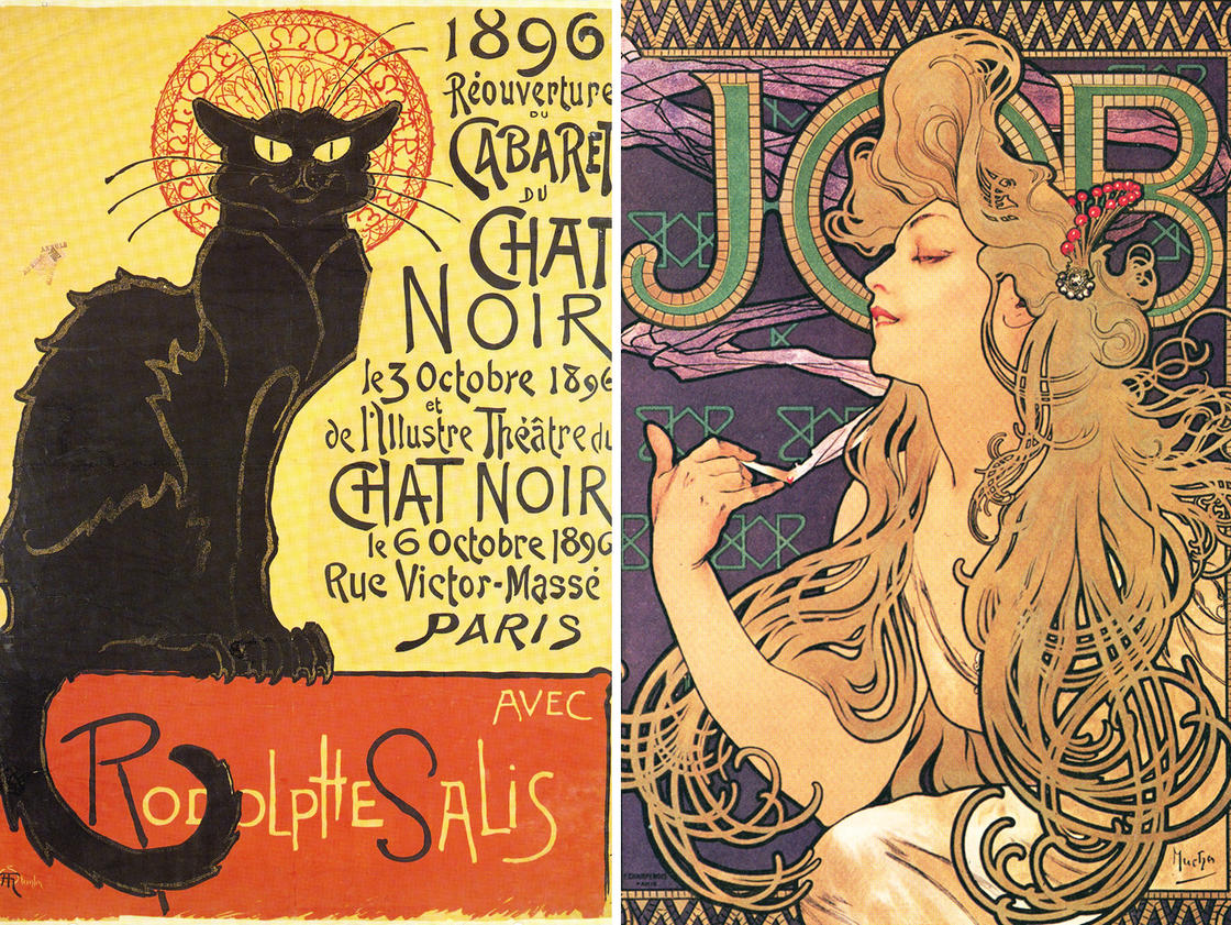 La Belle Epoque – More than 200 vintage posters available for free! (18 pics)