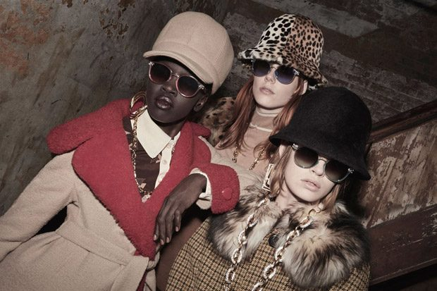 Hanne Gaby, Natalie Westling, Slick Woods + More for Marc Jacobs FW17