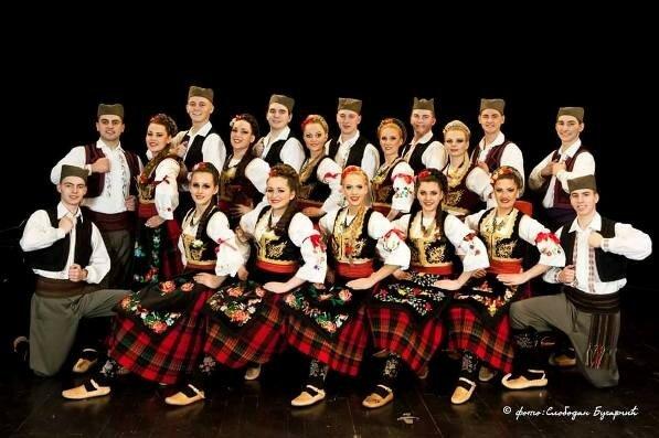 Сербия, балканский фольклор, сербские танцы, сад Эрмитаж