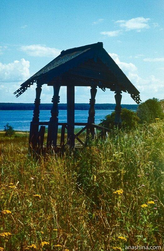 Поклонный крест, Онежское озеро