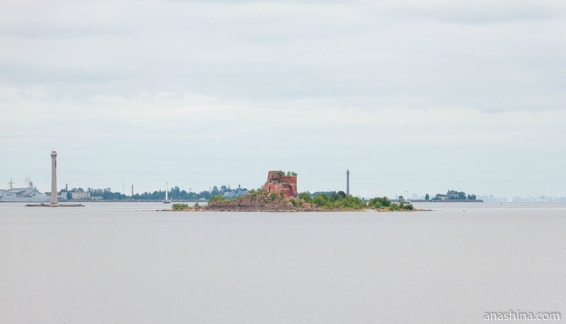 Форт «Император Павел I» («Рисбанк»), Кронштадт, Санкт-Петербург