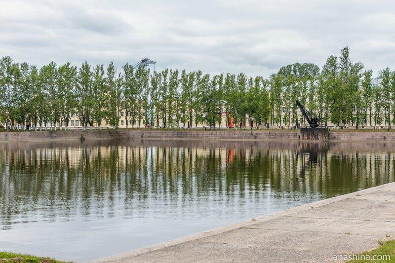 Итальянский пруд, Кронштадт