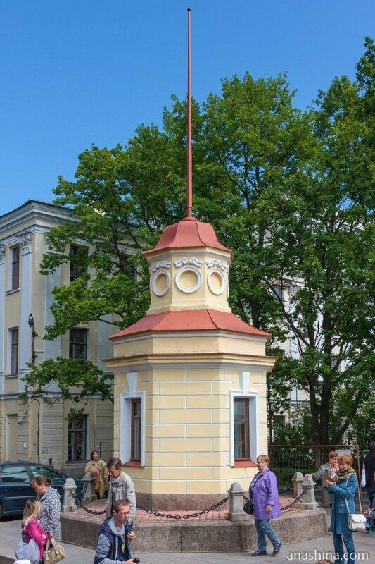 Здание мареографа, Кронштадт