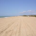 Дикий пляж на Бугазской косе