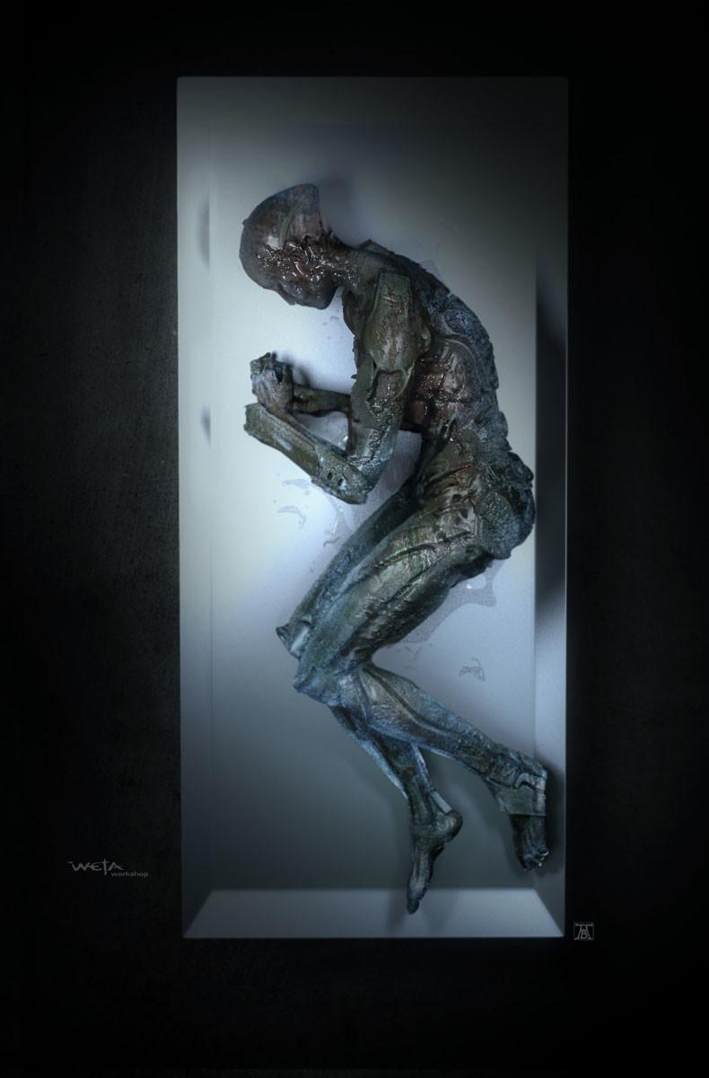 Power Rangers Concept Art by Andrew Baker