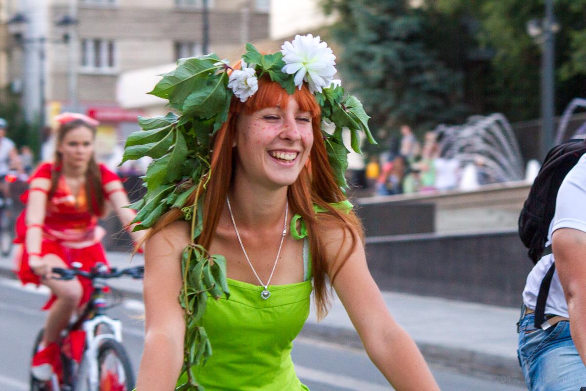 велопарад Леди на велосипеде фото 11