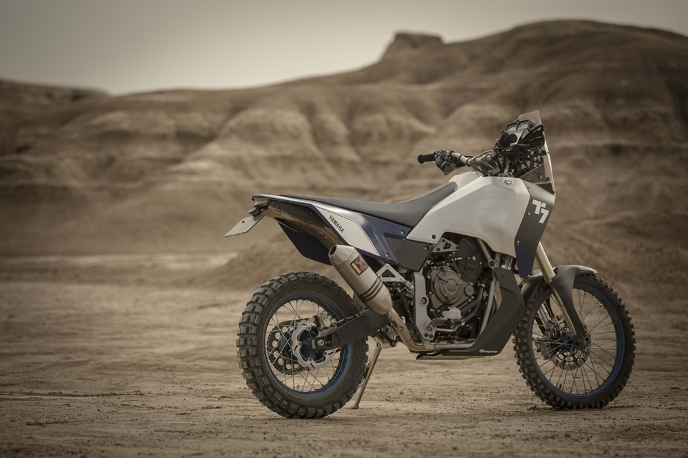 Фото прототипа турэндуро Yamaha T7 + видео
