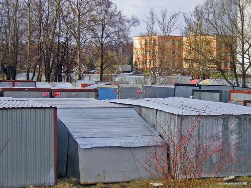 Вид на управу Солнцево от пруда у школы 1007 2005 год #солнцево