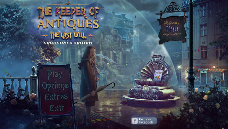 The Keeper of Antiques: The Last Will CE