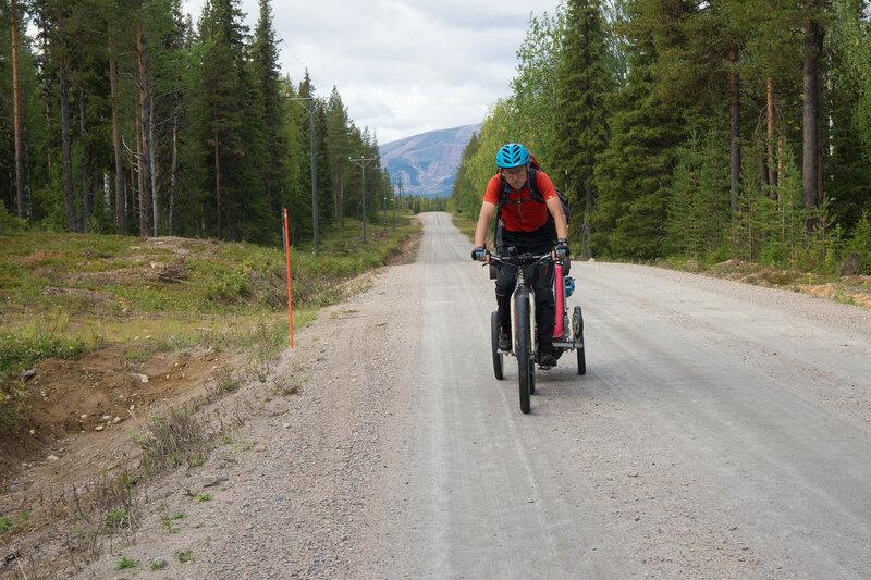 на велосипеде по Jauhojärventie
