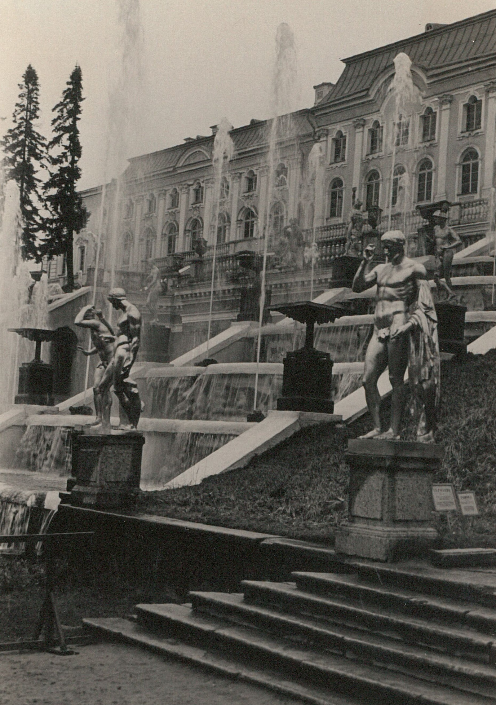 Петергоф. Большой дворец и Большой каскад