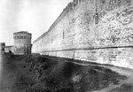 Долгочевская башня и крепостная стена. 1914
