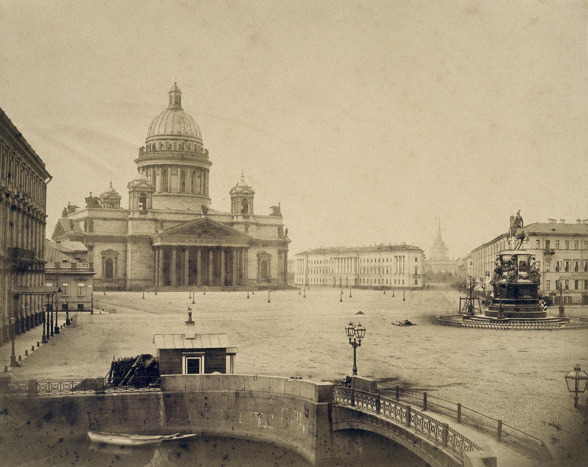 1859. Вид Мариинской площади