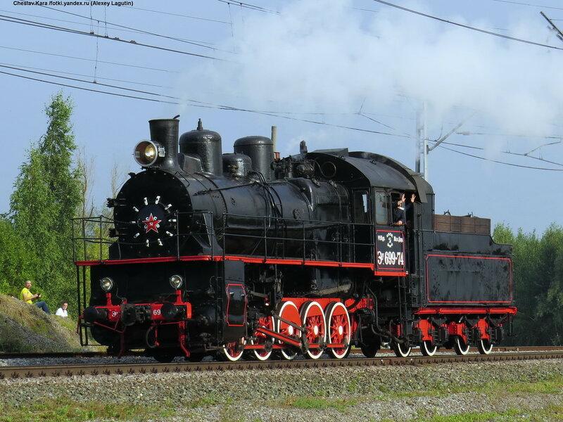 паровоз Эу-699-74 _180