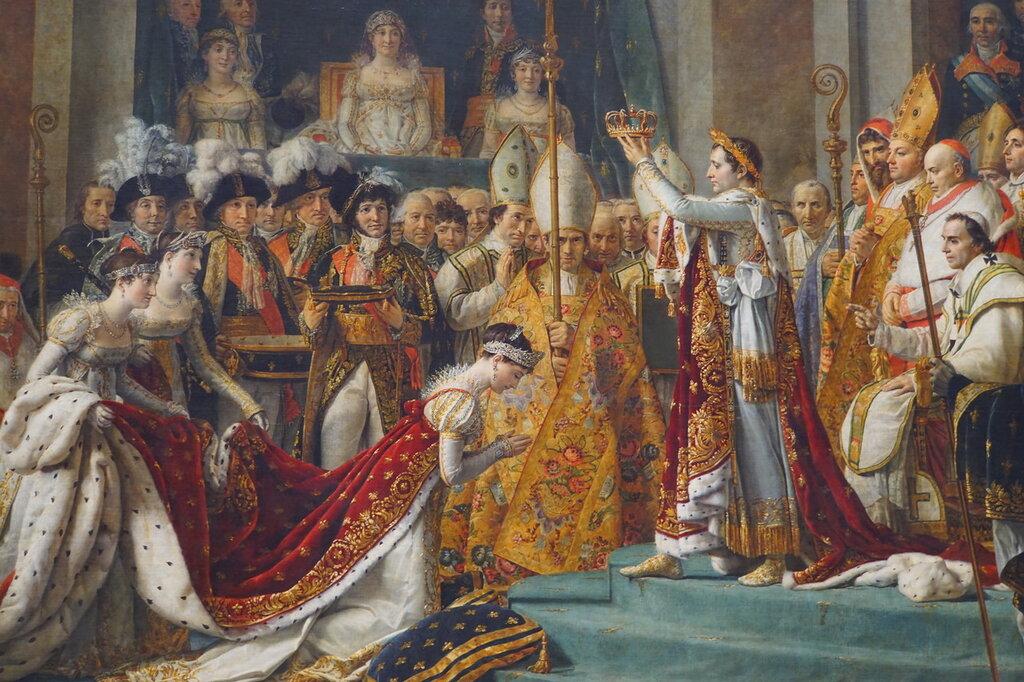 Давид. Коронация Наполеона