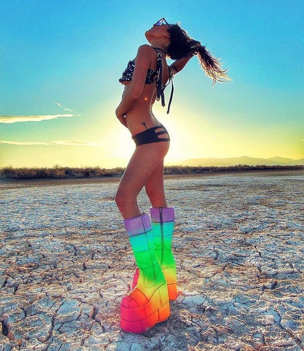 Первые фото с фестиваля Burning Man 2017
