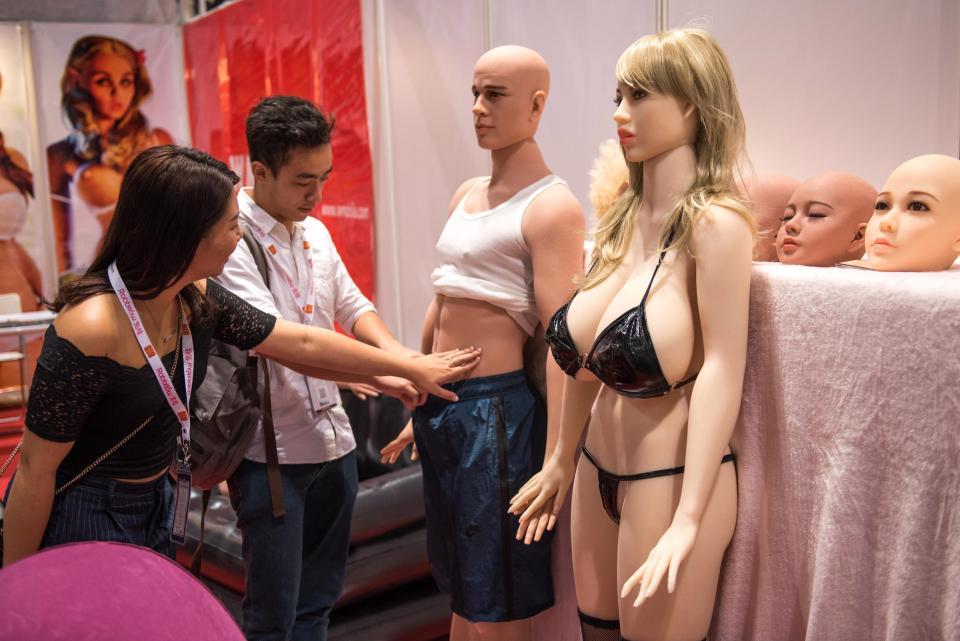 Выставка для взрослых в Гонконге
