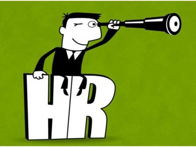 Открытка на День HR-менеджера! Смотрим в даль