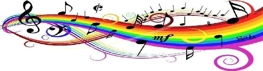 Открытки. С Днем Музыки! Радуга музыки открытки фото рисунки картинки поздравления