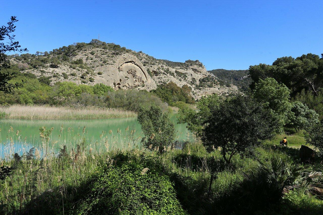 Эль Чорро. Водохранилище Гаитанэхо (Embalse de Gaitanejo)