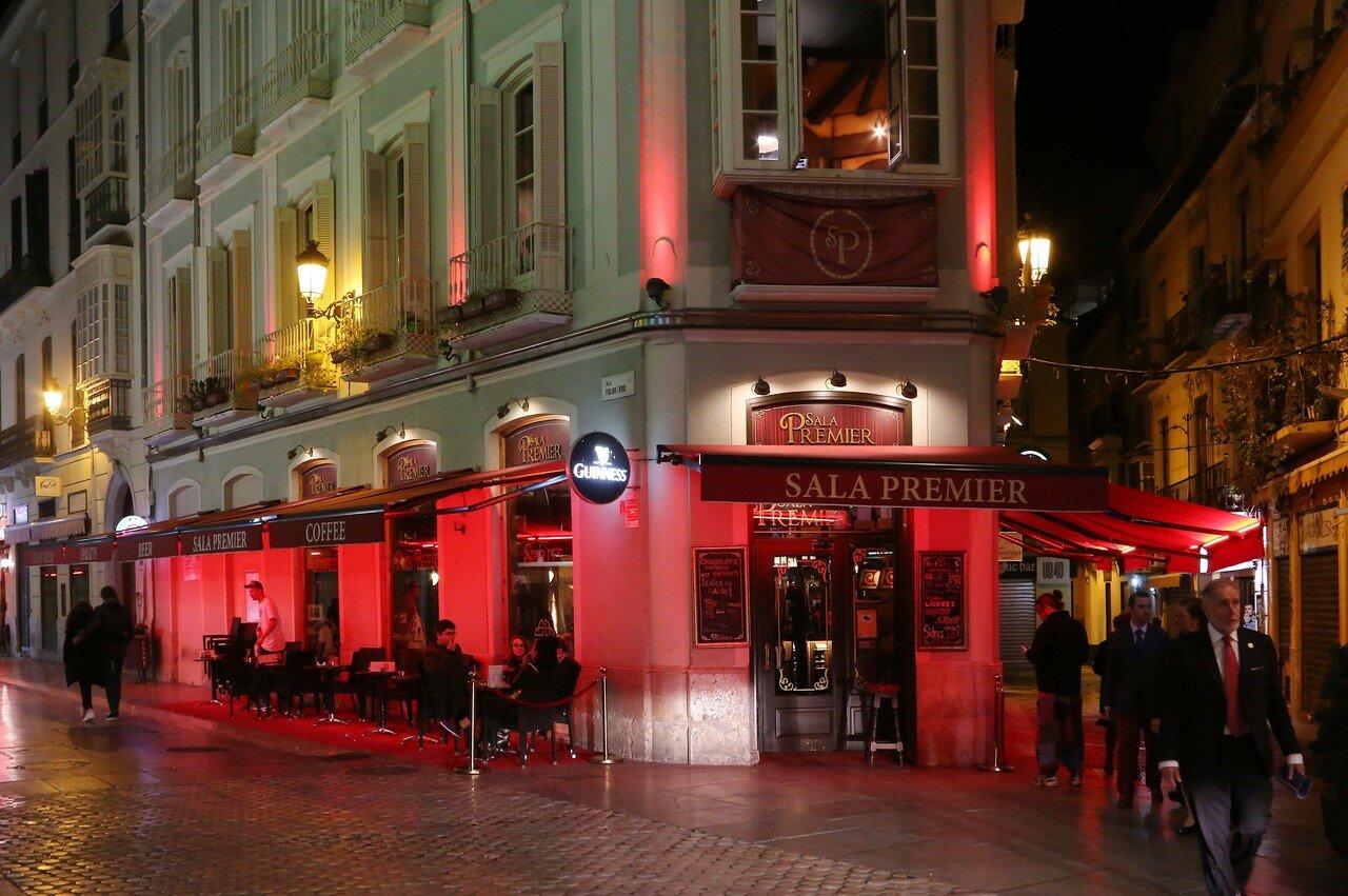 Ночная Малага. Ресторан 'Зал Премьер' (Sala Premier)