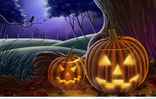 Happy Halloween Desideri Bello Foto Per Facebook - Gratis, belle dal vivo auguri