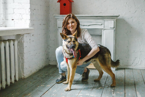Джонни собака из приюта догпорта