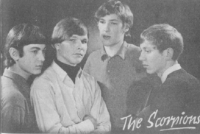 Wind of Start: редкие кадры группы Scorpions в самом начале их карьеры (7 фото)