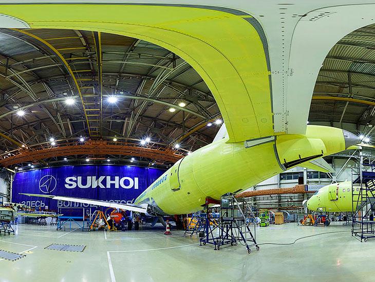 Как производят самолет Сухой Суперджет 100 (38 фото)