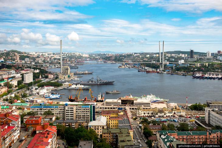 2. За полтора века своей истории Владивосток пережил несколько циклов развития от энергичных всплеск