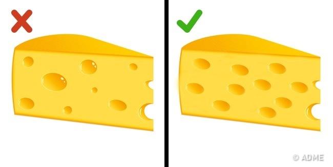 © depositphotos     При покупке твердого сыра нужно обращать внимание нанесколько момент