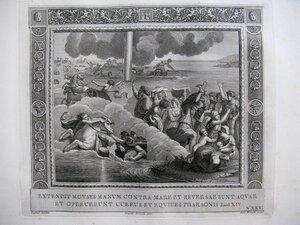 Переход через Чермное море (Исход, XIV, 21-29)