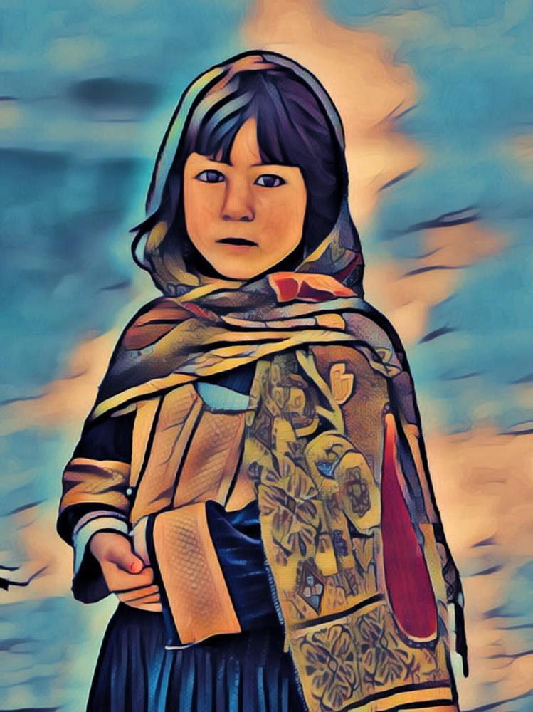 девочка из Афганистана