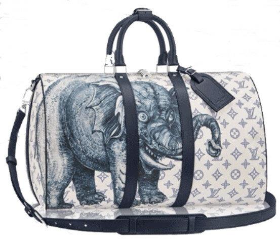 Мужская мода: анималистичные иллюстрации на мужских сумках