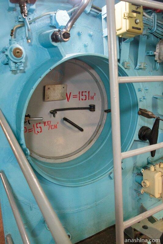 Люк, Подводная лодка Б-440, Вытегра