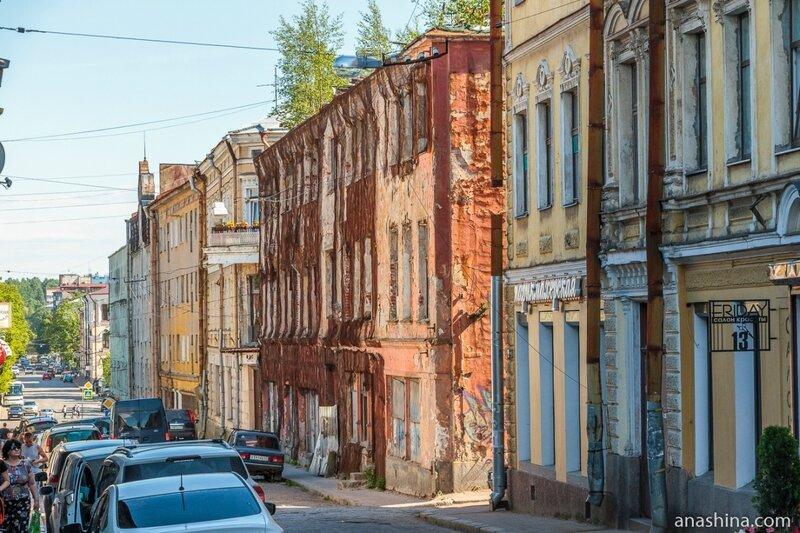 Дома по Крепостной улице, Выборг