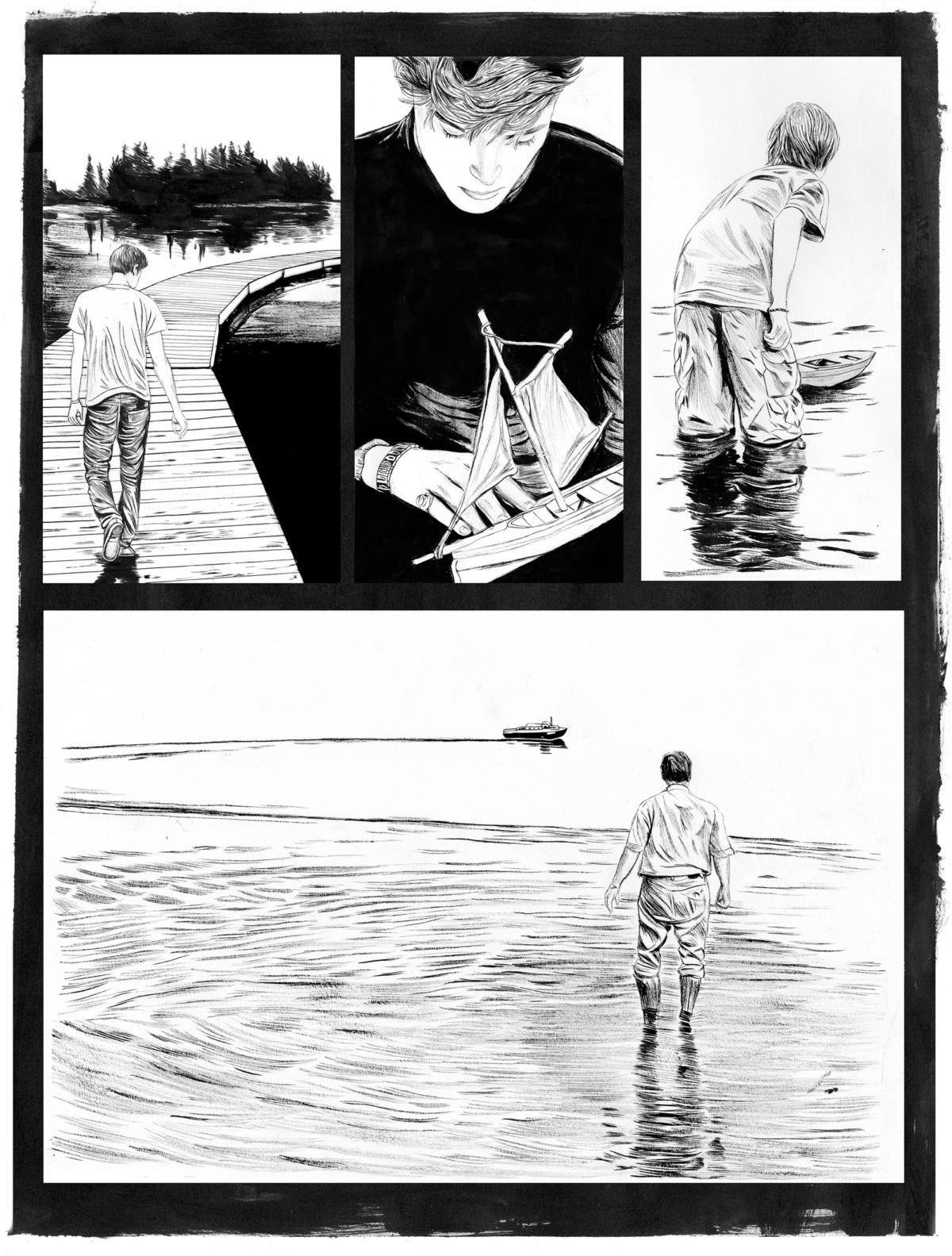 Inspiring Portrait and Narrative Illustrations by Zach Meyer