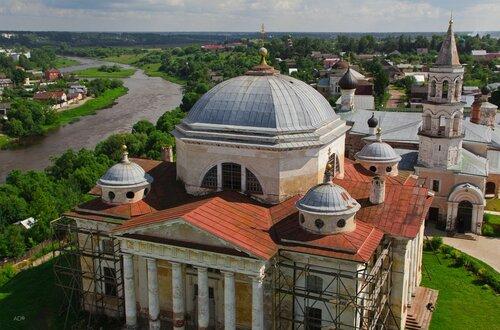 Cathedral of Boris and Gleb in Boris, Torzhok, Russia