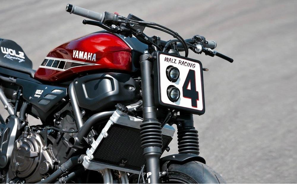 WalzWerk Racing: кастом Yamaha XSR700 Apex Ruler