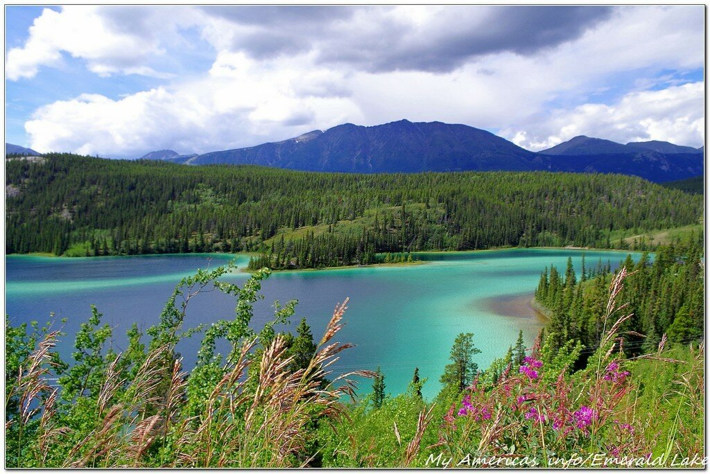 Изумрудное озеро, Юкон (Emerald Lake, Yukon)