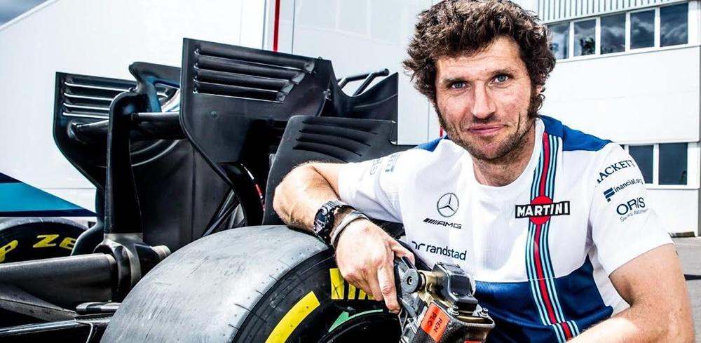 Гай Мартин получил работу механика в команде Williams Martini Racing
