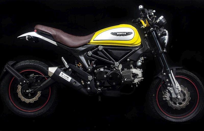 Найди 5 отличий: Lifan Hunter 125 - китайская копия Ducati Scrambler