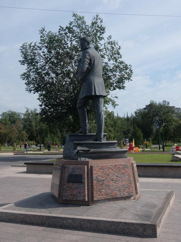 Омск - Памятник Врубелю