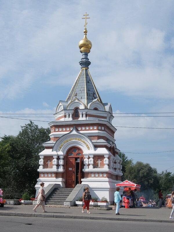 Омск - Серафимо-Алексеевская часовня